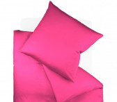 Pościel Fleuresse Colours Uni Raspberry 155x220..