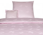 Poszewka Elegante Mariposa Pink 80x80..