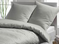 Poszewka Elegante Mild Stripes Grey 80x80..