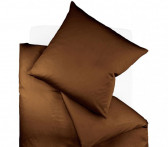 Poszewka Fleuresse Colours Uni Brown 50x70..
