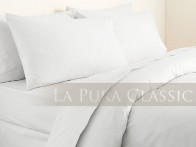 Poszewka La Pura Uni White 40x40..