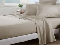 Prześcieradło Curt Bauer Uni Comfort Linen 100x200..