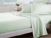 Prześcieradło Curt Bauer Uni Comfort Silver Jade..