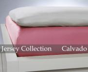 Prześcieradło Jersey Candy Pink 140x200..