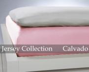 Prześcieradło Jersey Light Pink 140x200..