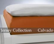 Prześcieradło Jersey Papaya