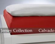 Prześcieradło Jersey Red