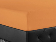 Prześcieradlo Joop Jersey Orange 150x200..
