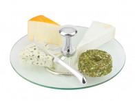 Patera do serów z nożem Zilverstad Cheese Stand..