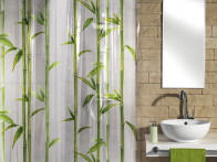 Zasłona Bambu Green 180x200