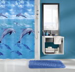 Zasłona Dolphin Multicolor 180x200