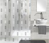 Zasłona Grafico Grey 180x200