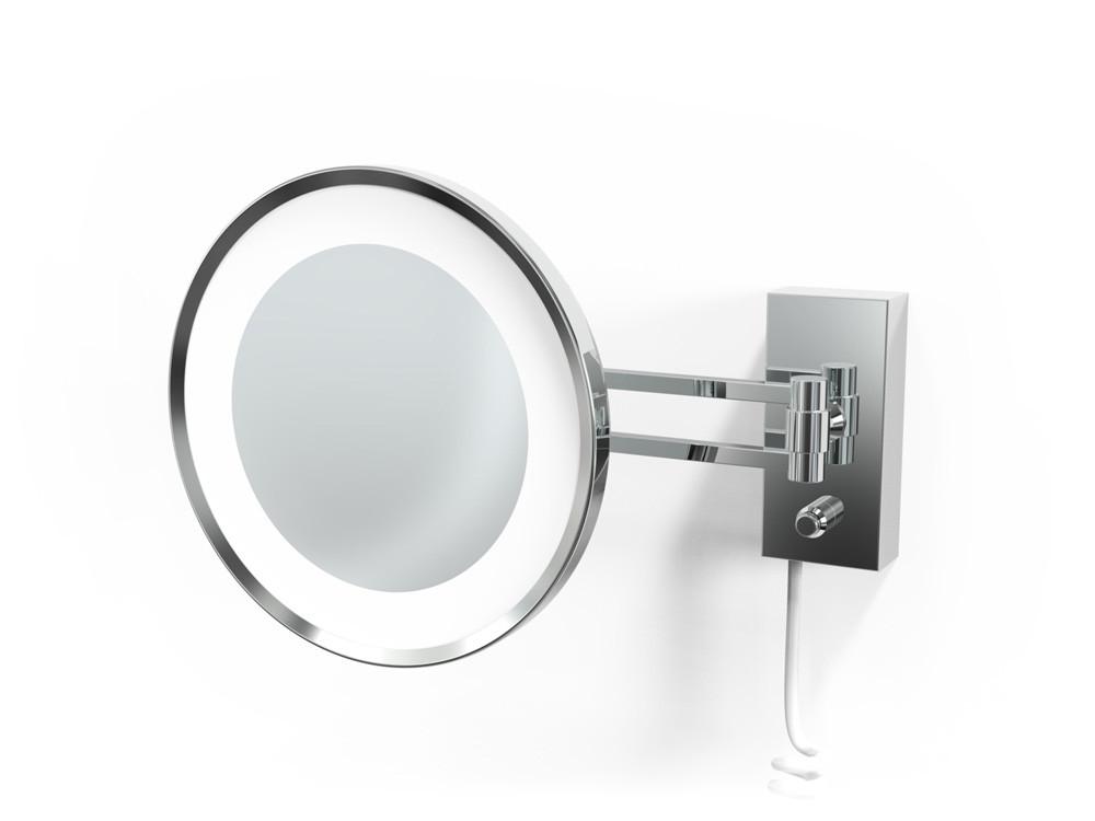 Lusterko kosmetyczne ścienne LED 5x Decor Walther BS 36/V Chrome
