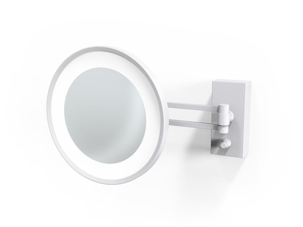 Lusterko kosmetyczne ścienne LED 5x Decor Walther BS 36/V White Matt