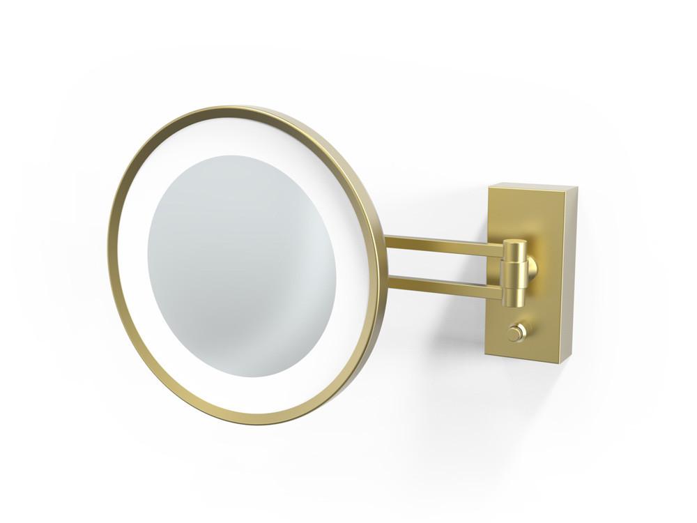 Lusterko kosmetyczne ścienne LED 3x Decor Walther BS 36 Gold Matt