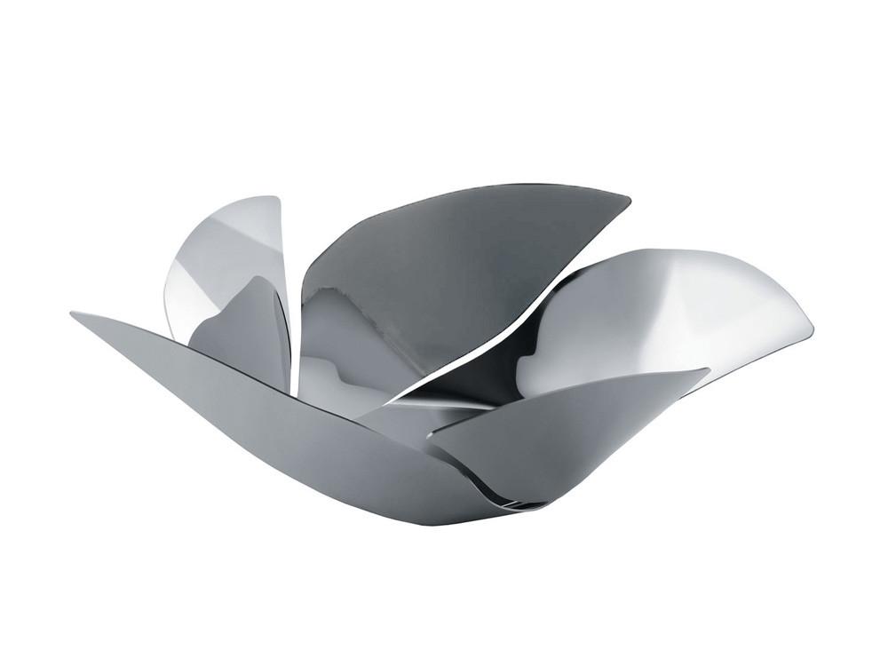 Kosz na owoce Alessi Twist Again Silver