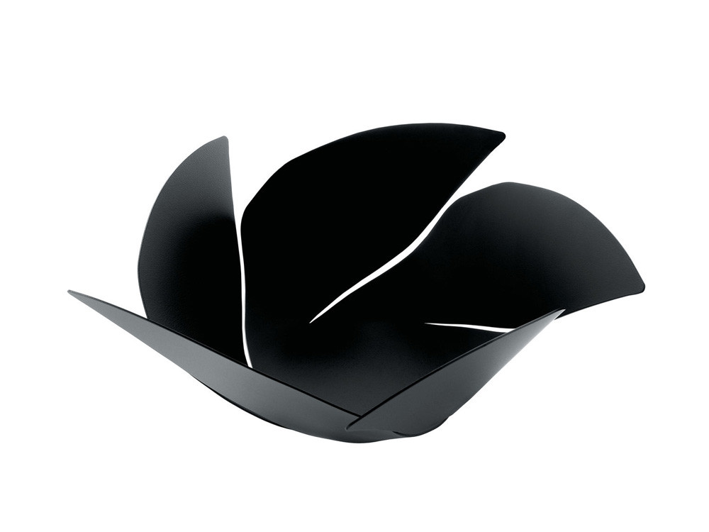 Kosz na owoce Alessi Twist Again Super Black