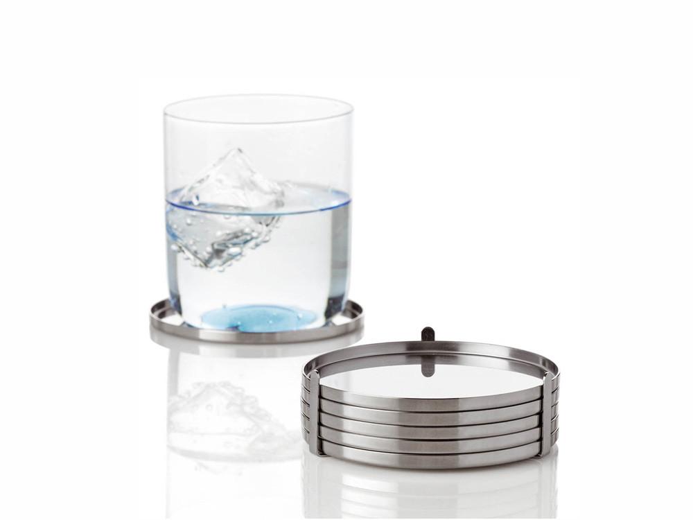 Komplet podstawek pod szklanki x6 Stelton AJ Cylinda