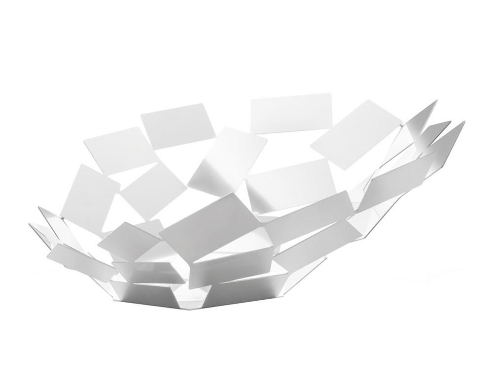 Patera dekoracyjna na owoce Alessi La Stanza dello Scirocco White