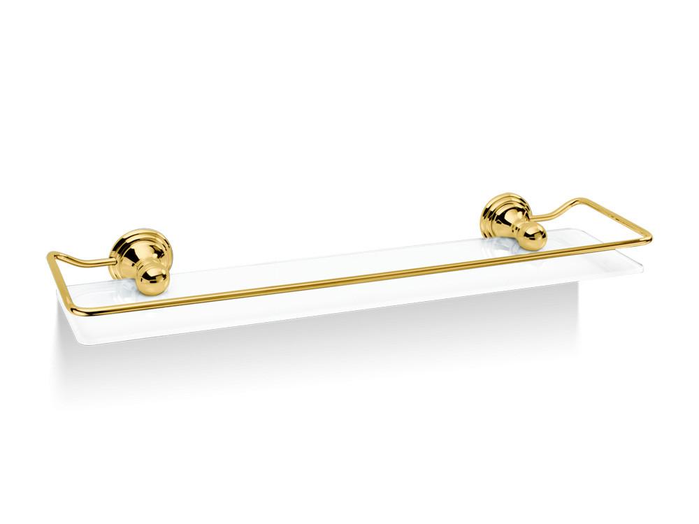 Półka łazienkowa ścienna Decor Walther Classic CL GLA R Gold