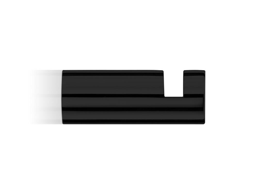 Wieszaczek ścienny Decor Walther Mikado MK HAK1 Black Matt