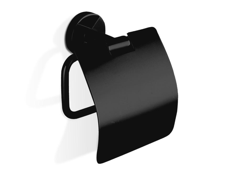 Uchwyt ścienny na papier Decor Walther Basic BA TPH4 Black Matt