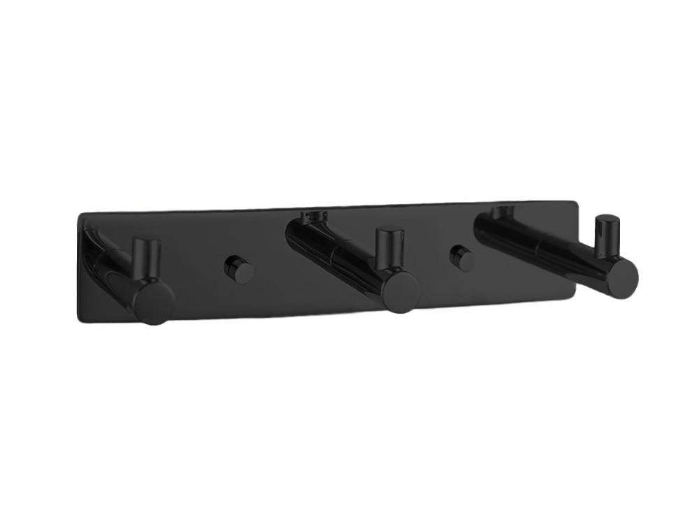 Wieszaczek ścienny Decor Walther Basic BA HAK3 Black Matt