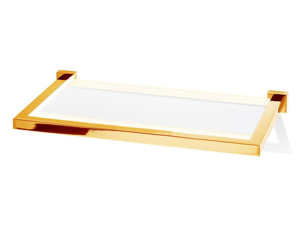 Półka łazienkowa ścienna Decor Walther CO GLA30 Gold