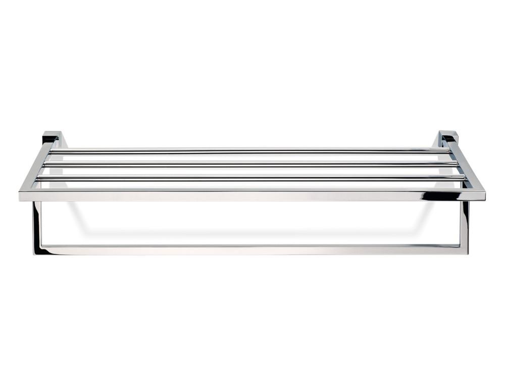 Wieszak/ półka z poprzeczkami Decor Walther CO KHT Nickel Satin