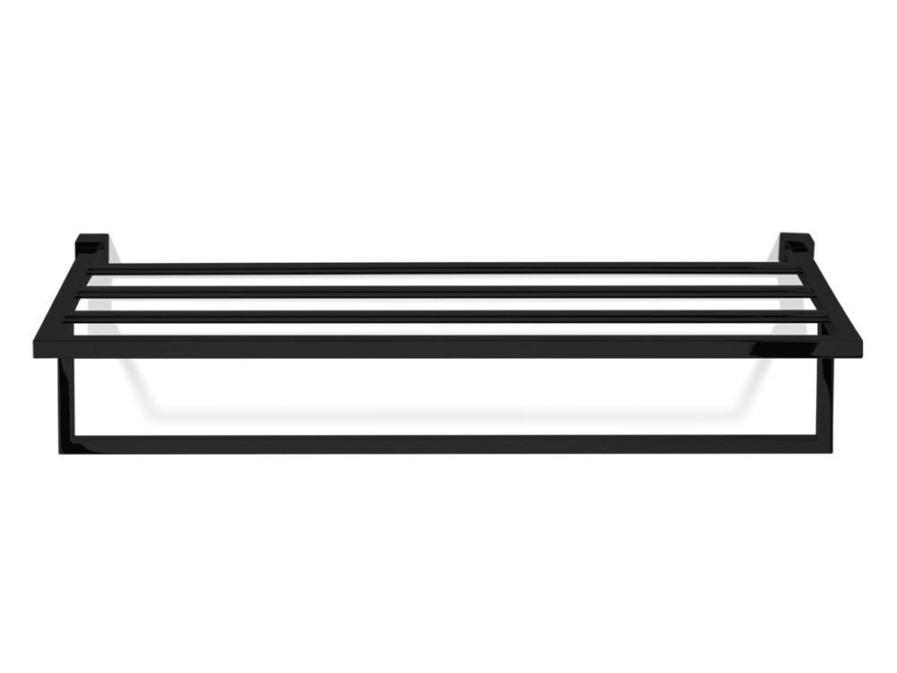 Wieszak/ półka z poprzeczkami Decor Walther CO KHT Black Matt