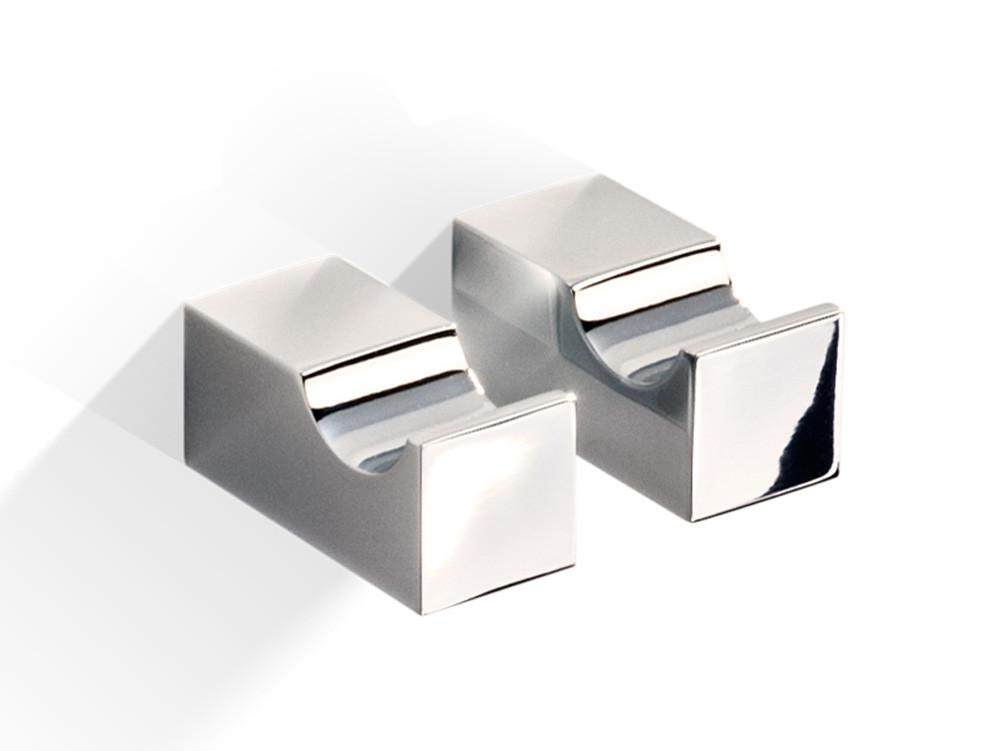 Zestaw wieszaczków ściennych x2 Decor Walther CO HAK1 Nickel Satin
