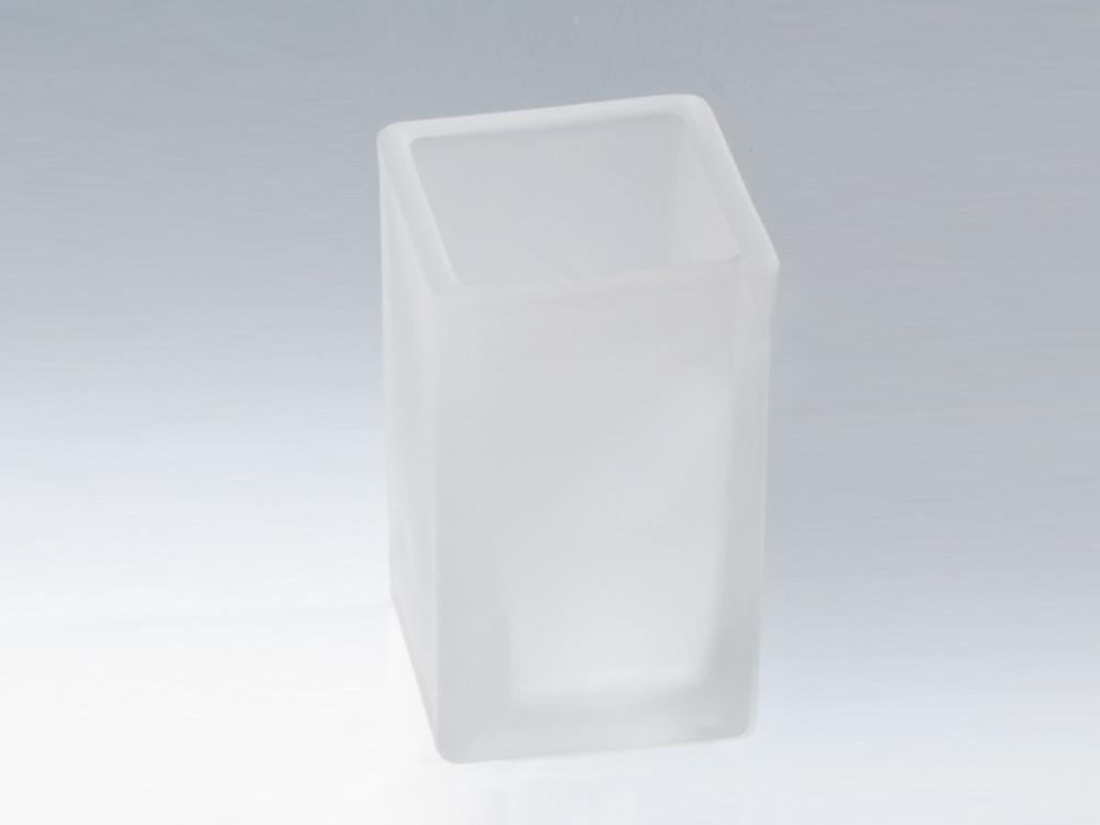 Kubek łazienkowy Decor Walther CO EMG Glass White Satin