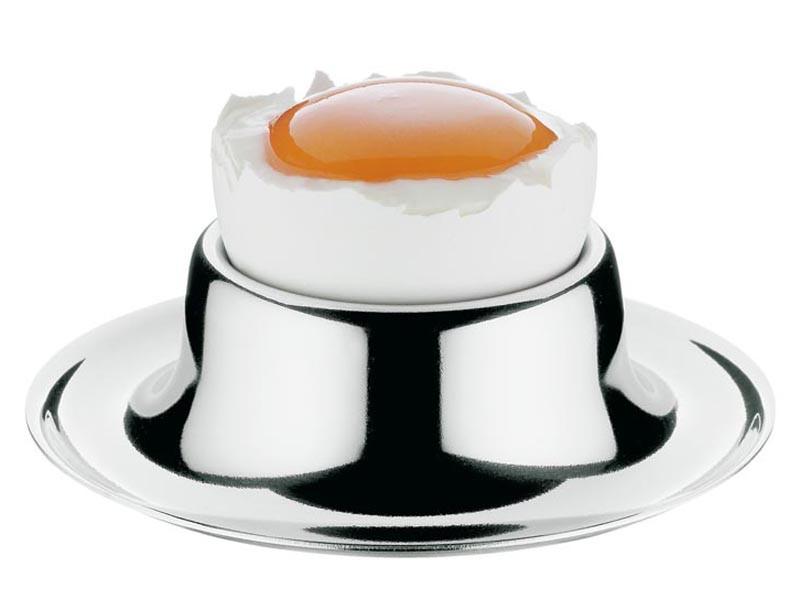 Zestaw kieliszków na jajka WMF Silver x6