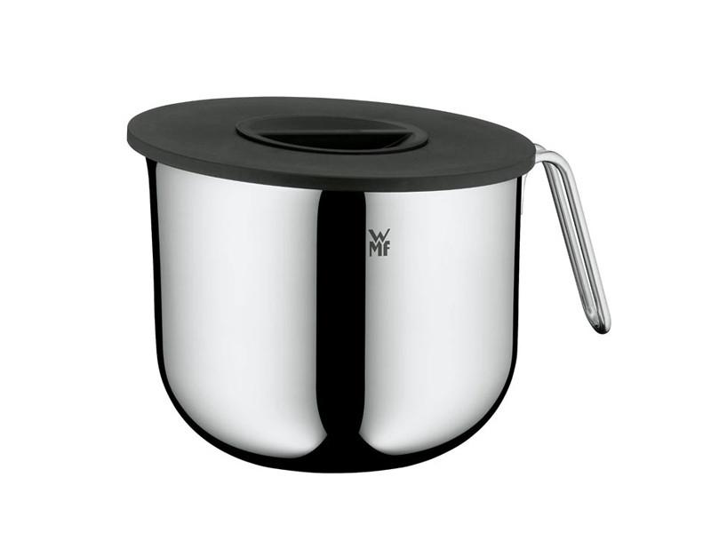Misa kuchenna z rączką i pokrywką WMF Function Silver/Black 18,5/2,5 L