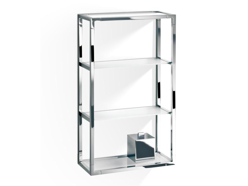 Regał/ szafka łazienkowa ścienna Decor Walther ET 6 Glass White