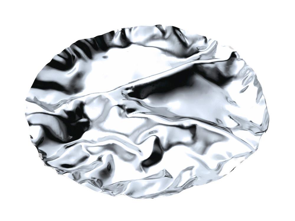 Półmisek na przekąski Alessi Pepa L Silver