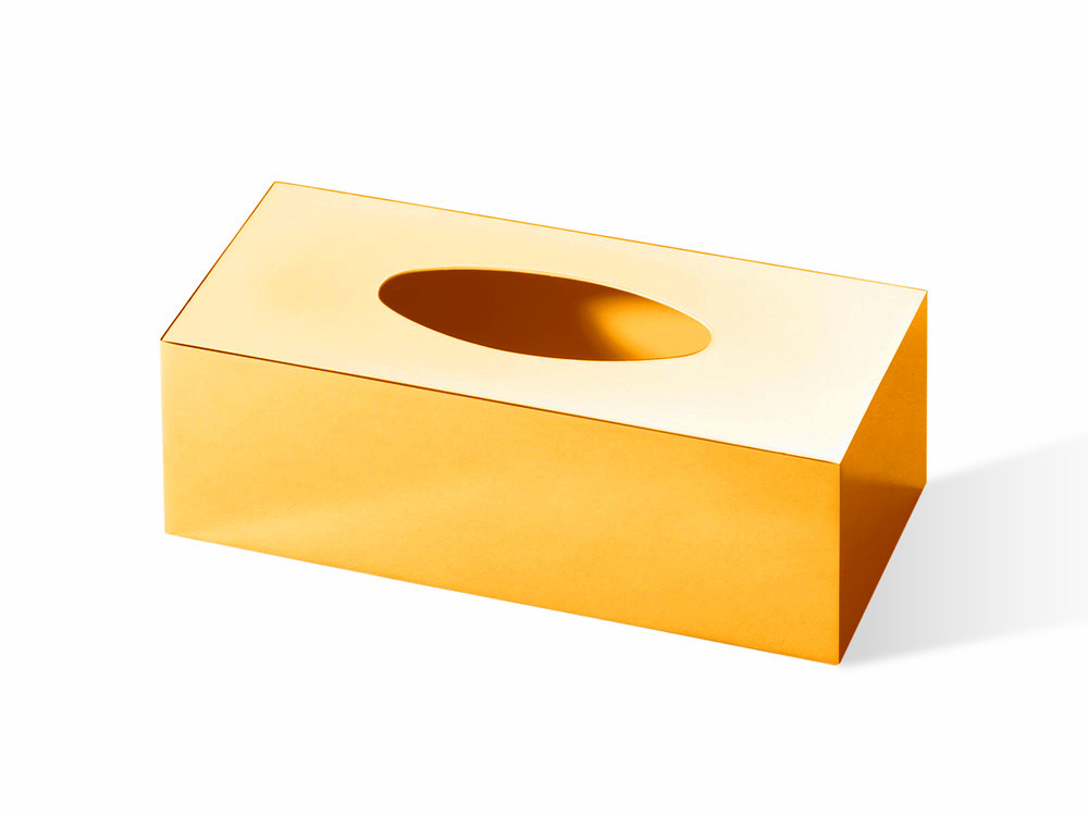 Pudełko na chusteczki nablatowe/ścienne Decor Walther KB 81 Gold