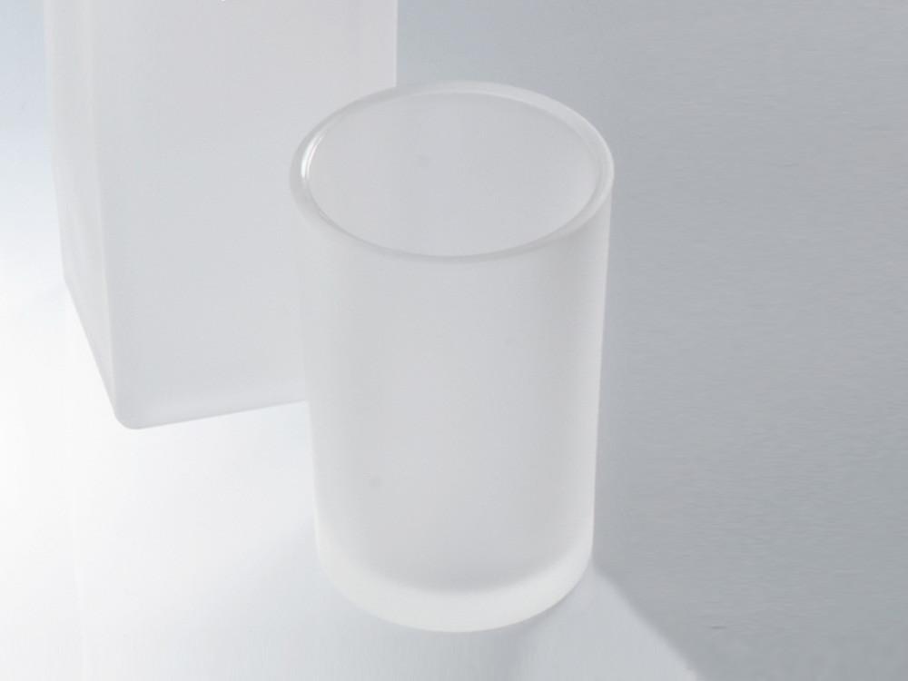 Kubek łazienkowy Decor Walther DW 975 Glass White Satin