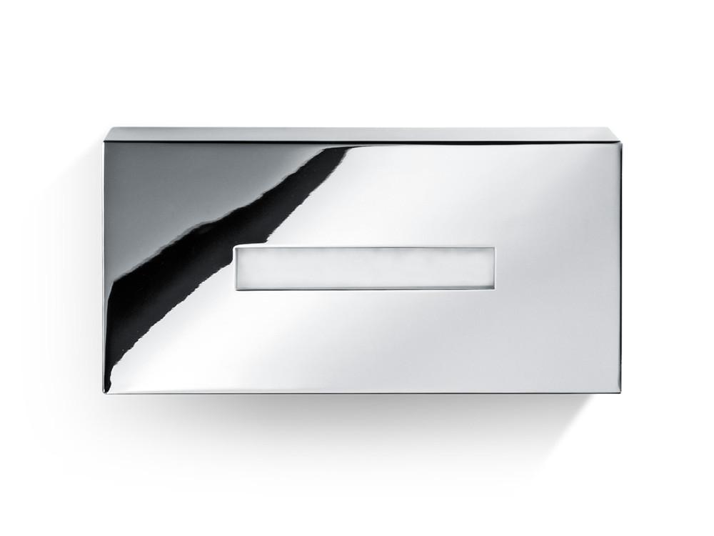 Pudełko na chusteczki nablatowe/ścienne Decor Walther KB 82 Chrome