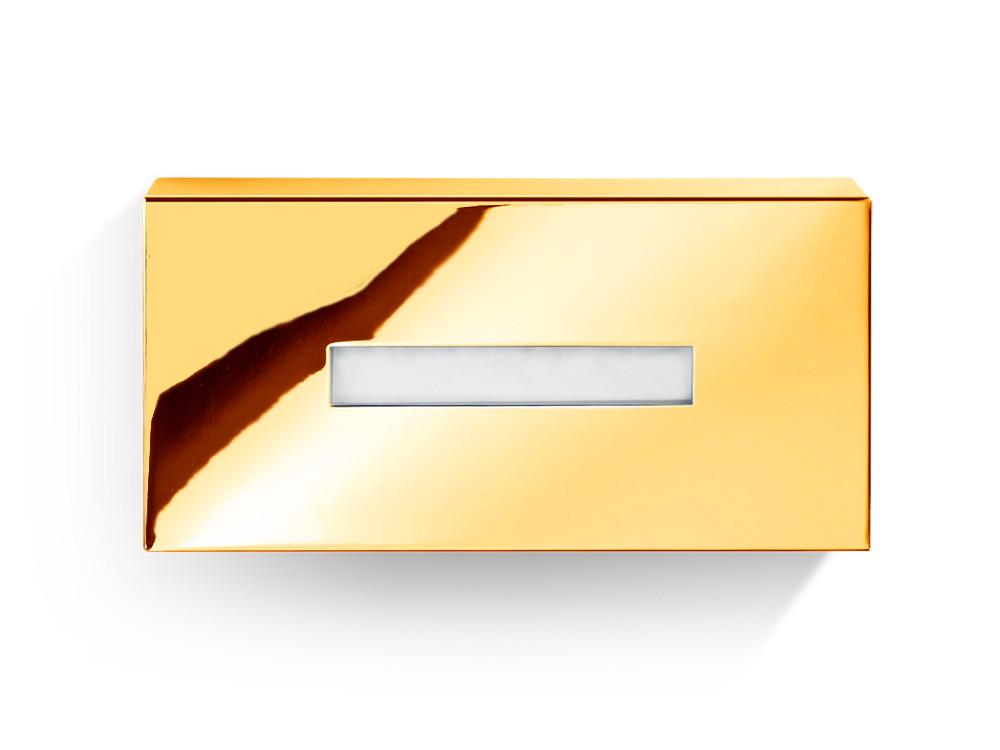 Pudełko na chusteczki nablatowe/ścienne Decor Walther KB 82 Gold