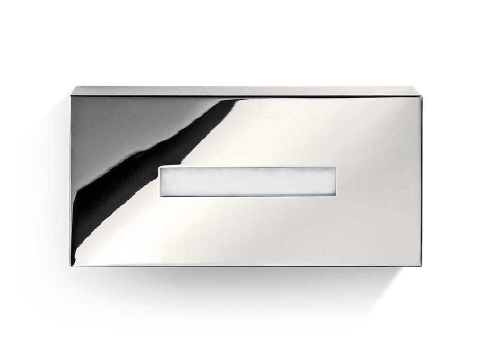 Pudełko na chusteczki nablatowe/ścienne Decor Walther KB 82 Nickel Satin