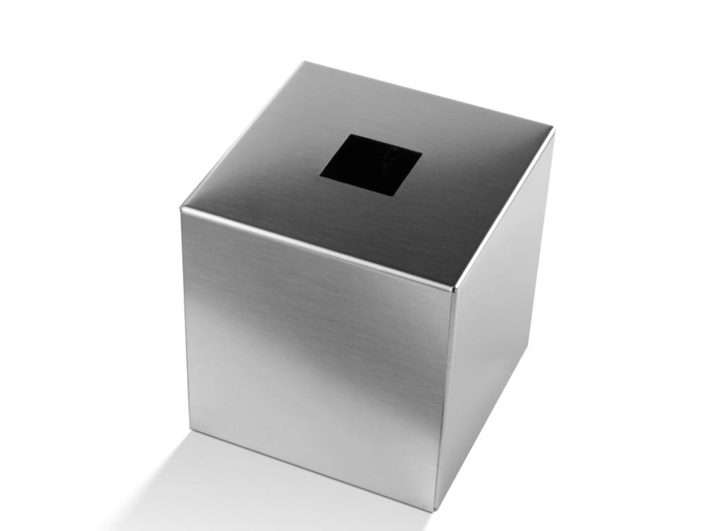 Pudełko na chusteczki Decor Walther KB 93 Silver Matt