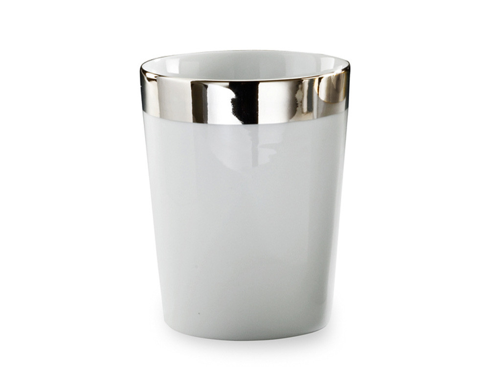 Kubek łazienkowy Decor Walther BE 50 Porcelain Platinum