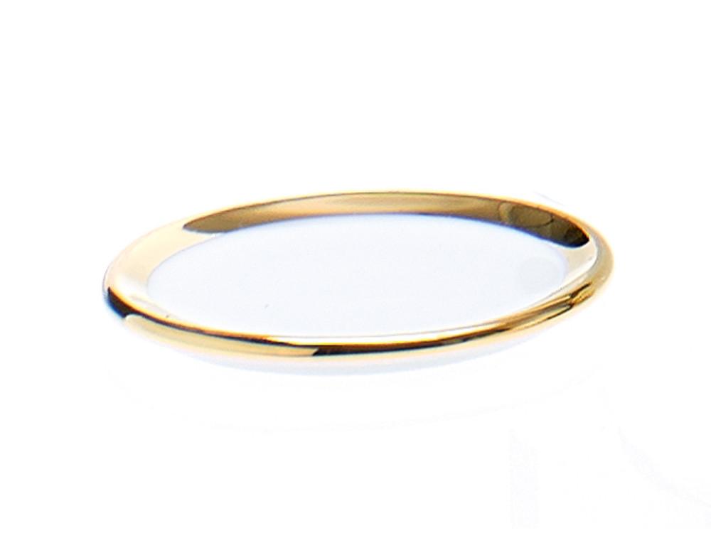 Podstawka łazienkowa Decor Walther SA S Porcelain Gold