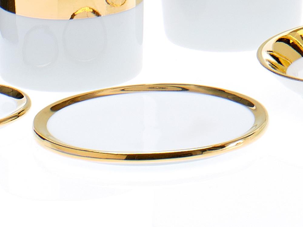 Podstawka łazienkowa Decor Walther SA M Porcelain Gold