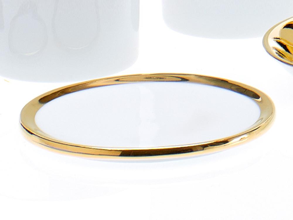Podstawka łazienkowa Decor Walther SA L Porcelain Gold