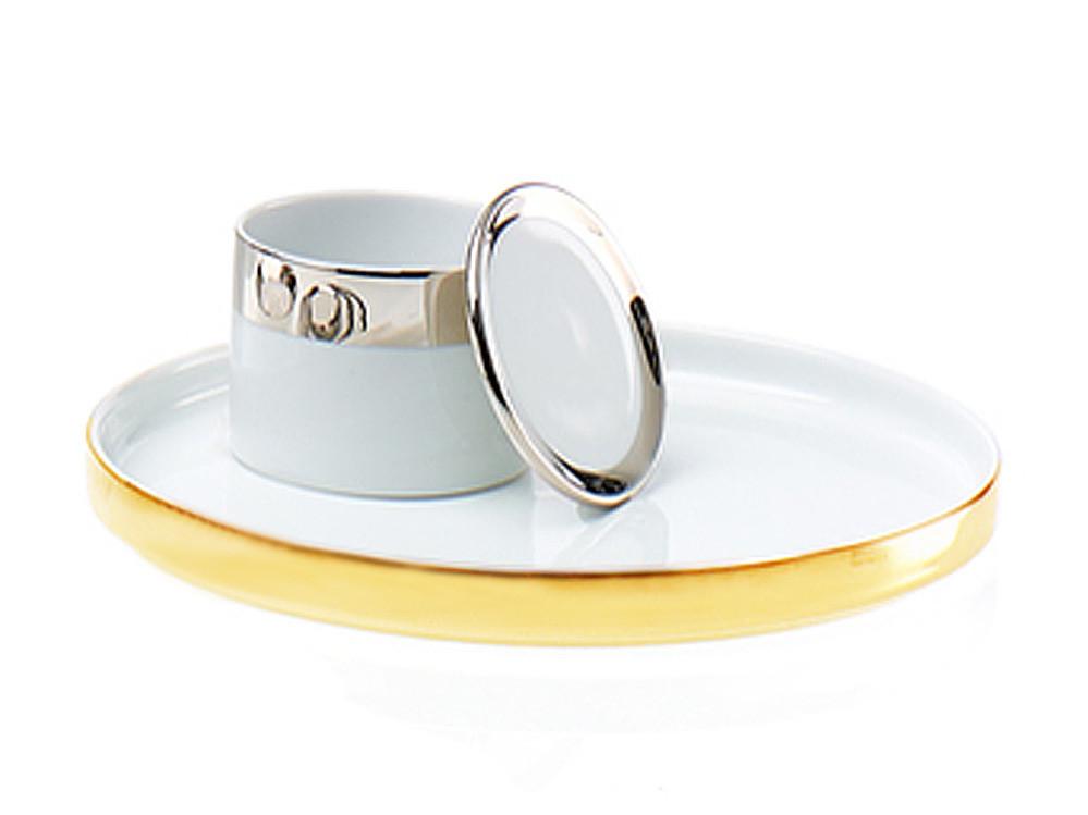 Tacka łazienkowa Decor Walther TAB M Porcelain Gold