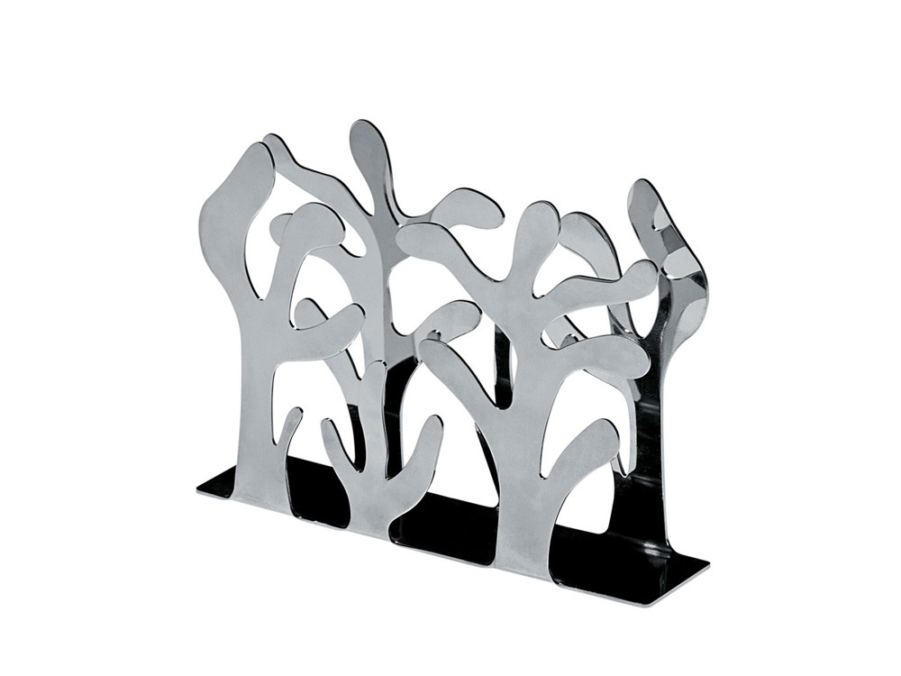 Stojak na serwetki/ serwetnik Alessi Mediterraneo Silver