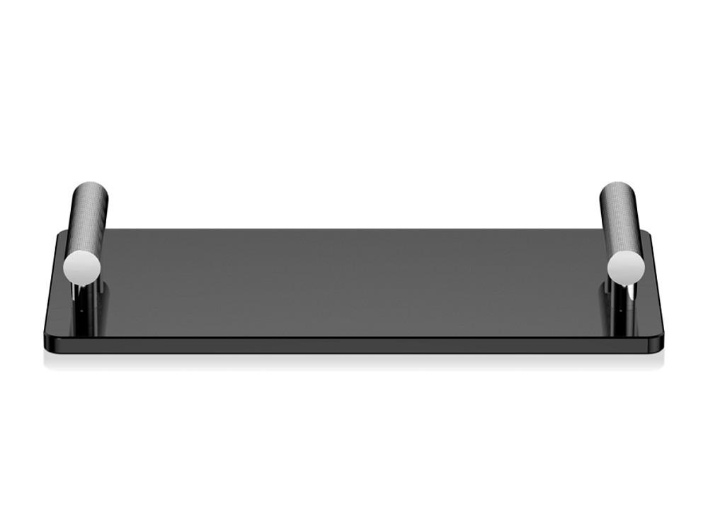 Tacka łazienkowa Decor Walther Club TAB Acryl Glass Black