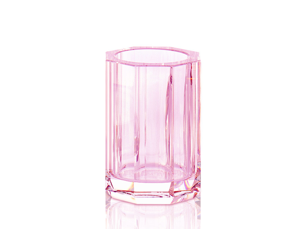 Kubek łazienkowy Decor Walther KR BER Crystal Pink